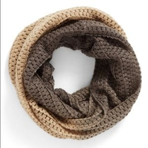 bp Accessories - BP Ombré Infinity Scarf Tan and Gray